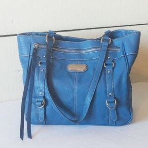 🌵Franco Sarto large Blue shoulder purse